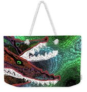 Beware, When You Decide To Swim With The Big Fish Weekender Tote Bag