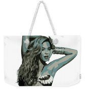 Beyonce Cutout Art Weekender Tote Bag