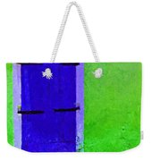 Beyond The Blue Door Weekender Tote Bag