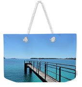 Beyond The Pier Weekender Tote Bag
