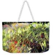 Beyond The Red Flowers Weekender Tote Bag