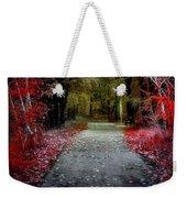 Beyond The Red Leaves Weekender Tote Bag