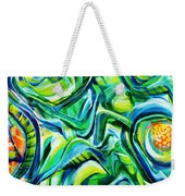 Beyond The Unknown - Right Weekender Tote Bag