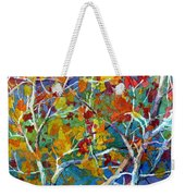 Beyond The Woods - Orange Weekender Tote Bag
