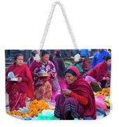 Bhaktapur Holi Market Weekender Tote Bag