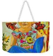 Bianka And Butterflies Weekender Tote Bag