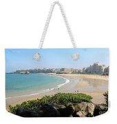 Biarritz Beach Panorama Weekender Tote Bag