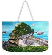 Biarritz Bridge Weekender Tote Bag