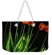 Bicolor Tulips Weekender Tote Bag