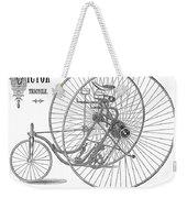 Bicycle, 1884 Weekender Tote Bag