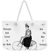 Bicycle, 1897 Weekender Tote Bag