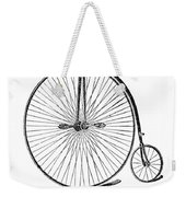 Bicycle Advertisement, 1888 Weekender Tote Bag