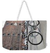 Bicycle And Building Weekender Tote Bag
