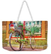 Bicycle Art Weekender Tote Bag