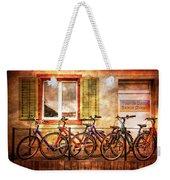 Bicycle Line-up Weekender Tote Bag