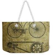 Bicycle Patent  1890 Weekender Tote Bag