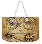 Bicycle Patent  Weekender Tote Bag