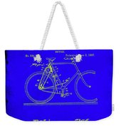 Bicycle Patent Drawing 4b Weekender Tote Bag