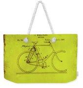Bicycle Patent Drawing 4d Weekender Tote Bag