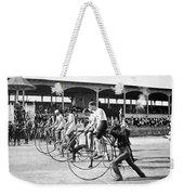 Bicycle Race, 1890 Weekender Tote Bag