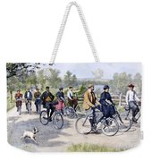 Bicycle Tourists, 1896 Weekender Tote Bag by Granger