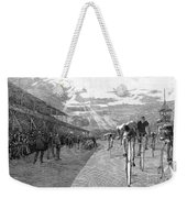 Bicycle Tournament, 1886 Weekender Tote Bag by Granger