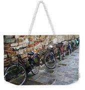 Bicycles In Rome Weekender Tote Bag