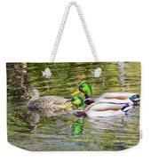 Bidwell Ducks In Fall Weekender Tote Bag