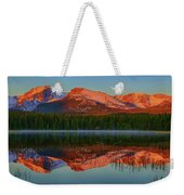 Bierstadt Alpenglow Weekender Tote Bag