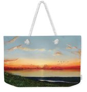 Big Assawoman Bay Weekender Tote Bag