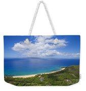 Big Beach Aerial Weekender Tote Bag