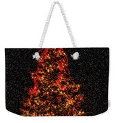 Big Bear Christmas Tree Weekender Tote Bag