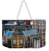 Big Ben And Westminster Abbey Weekender Tote Bag