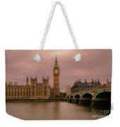 Big Ben And Westminster Bridge, London Weekender Tote Bag