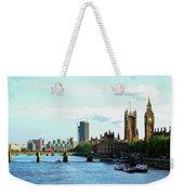 Big Ben, Parliament And River Thames Weekender Tote Bag