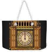 Big Ben Striking Midnight Weekender Tote Bag
