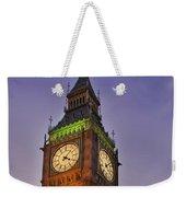 Big Ben Twilight In London Weekender Tote Bag
