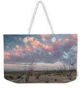 Big Bend Sunrise-blooming Ocotillo Weekender Tote Bag