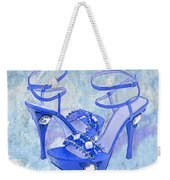 Big Blue Bling  Weekender Tote Bag