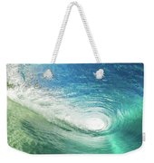 Big Blue Eye Weekender Tote Bag