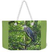 Big Blue In Green Tree Weekender Tote Bag