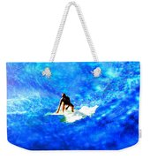 Big Blue Weekender Tote Bag