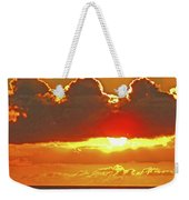 Big Bold Sunset Weekender Tote Bag