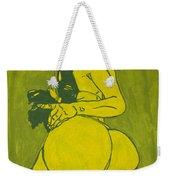 Sexy Green Woman  Weekender Tote Bag