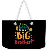 Big Brother Space Theme Light Promotion Weekender Tote Bag