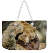 Big Brown Bear Weekender Tote Bag
