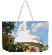 Big Buddha Statue At The Long Son Pagoda In Nha Trang Vietnam Weekender Tote Bag