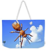 Big Bug Sculpture 1 Weekender Tote Bag