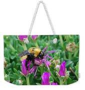 Big Bumblebee Weekender Tote Bag