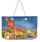 Big Bunny Motel Weekender Tote Bag by Juli Scalzi